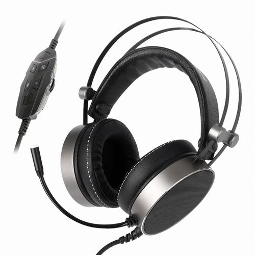 ABKO HACKER B900U PLUS 음성변조 버추얼 7.1 진동 RGB 헤드셋, 단일색상
