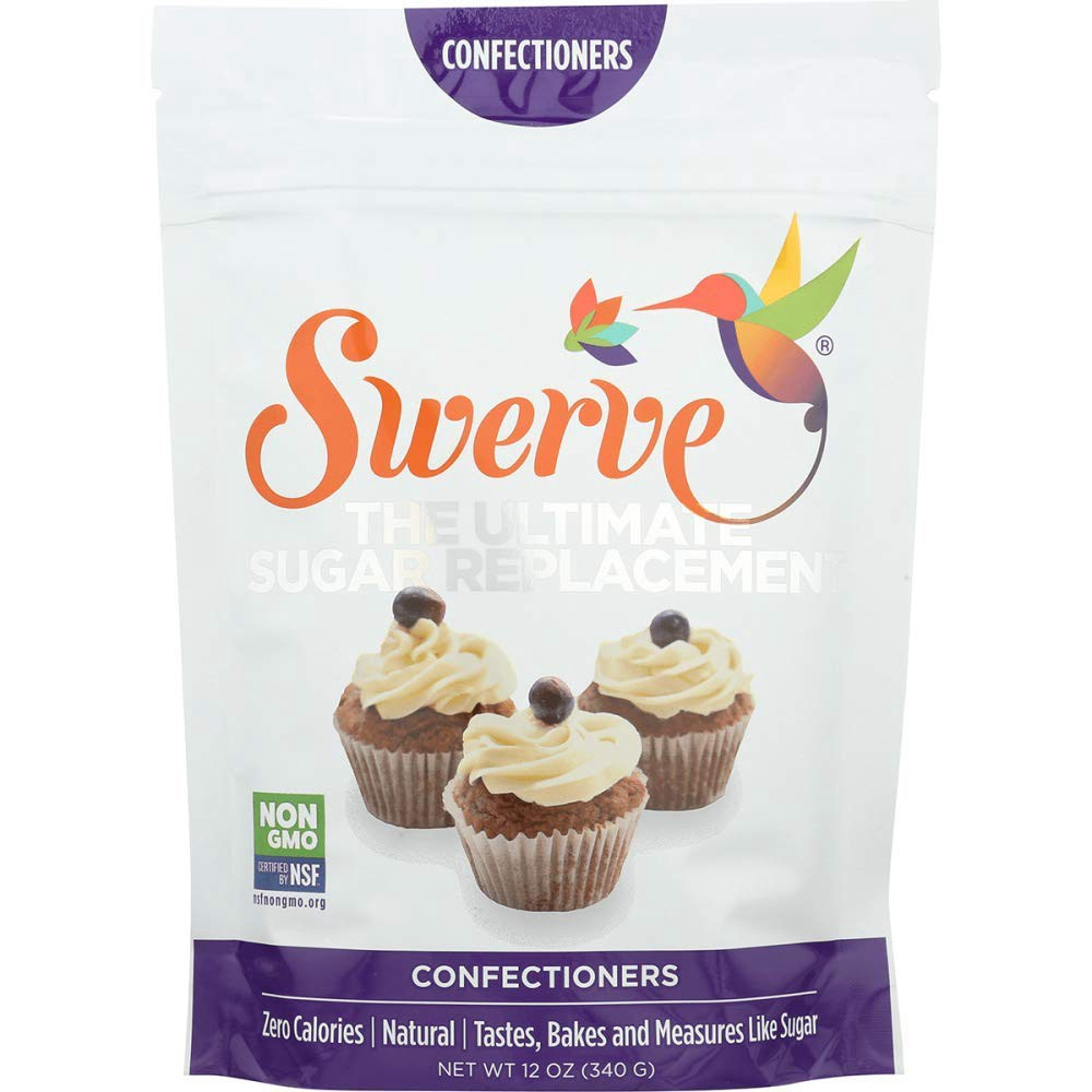 Swerve Sweetener Confectioners 12 oz Swerve 감미료 과자류 340.2g, 1