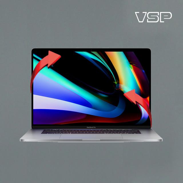 뷰에스피 2020 맥북 프로 16인치 디자인 그레이 스킨 전신 외부 보호필름 각1매, 1개
