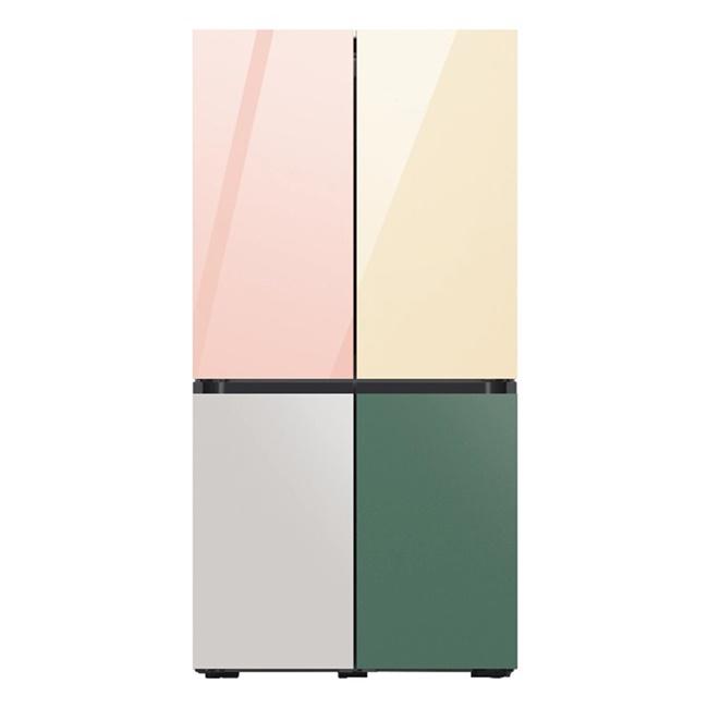 삼성전자 RF60A91D1AP 비스포크 냉장고 1등급 키친핏 615L 21년 신모델, 모두 코타