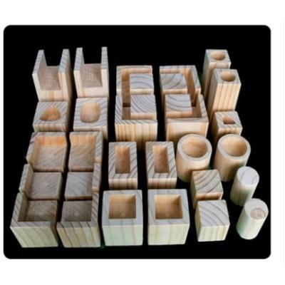 나무 목재 가구 책상 테이블 높이조절발 가구발 발통 폴딩박스다리 매트리스 의자 받침, 길이 10cm 홈 너비 1.2cm 받침높이 5cm