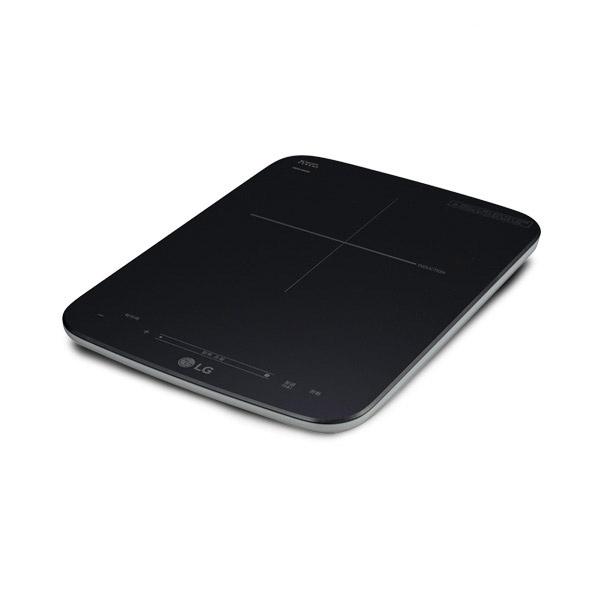 라온하우스 [LG전자] 프리미엄 LG DIOS 인덕션 전기레인지 1구 /슬라이드 터치 / 세라믹 글라스 상판 타이머 잠금기능, HEI1V9
