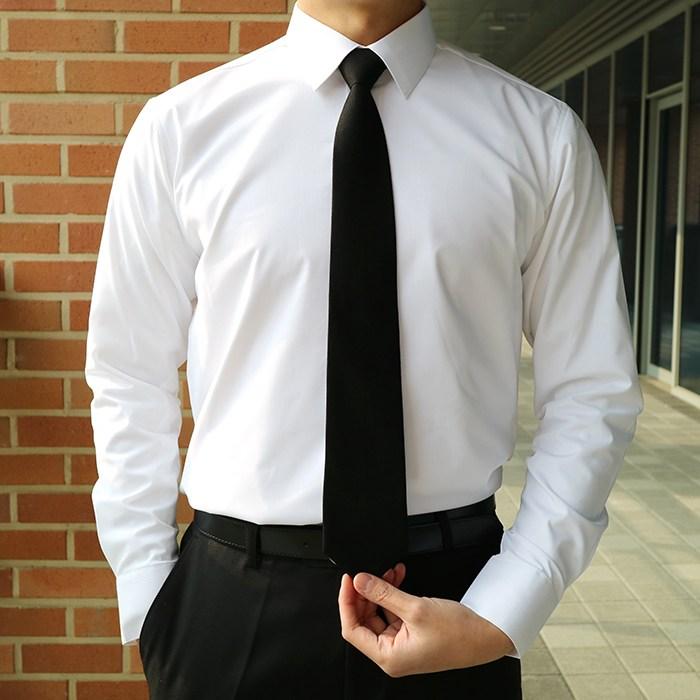 구김없는 정장 남자 와이셔츠 프리미엄 스판 3color