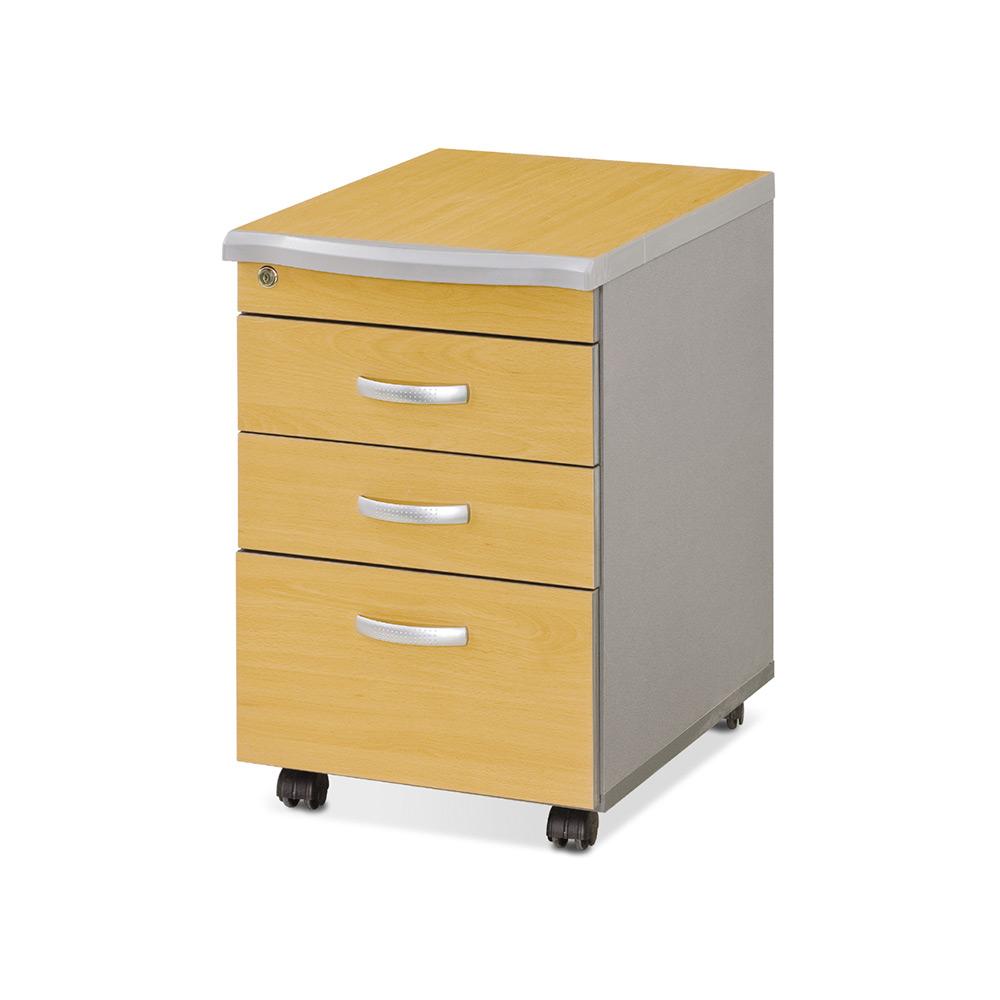 책상서랍 3단서랍 목재서랍 사무용서랍 이동서랍장, 일반서랍_에어포트