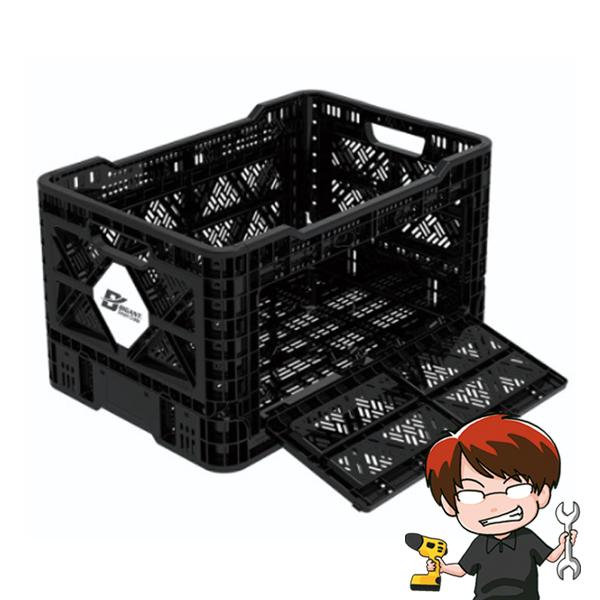 빅앤트 BIGANT 48리터 폴딩박스 (앞문오픈형) 블랙 접이식 박스 장바구니 자동차 트렁크 다용도