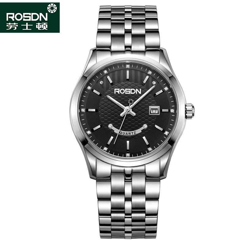 로즈톤 여사 시계 석영 커플 시계 대 강철 띠 시계 남자 시계 3193원 본색 남자 시계 3193