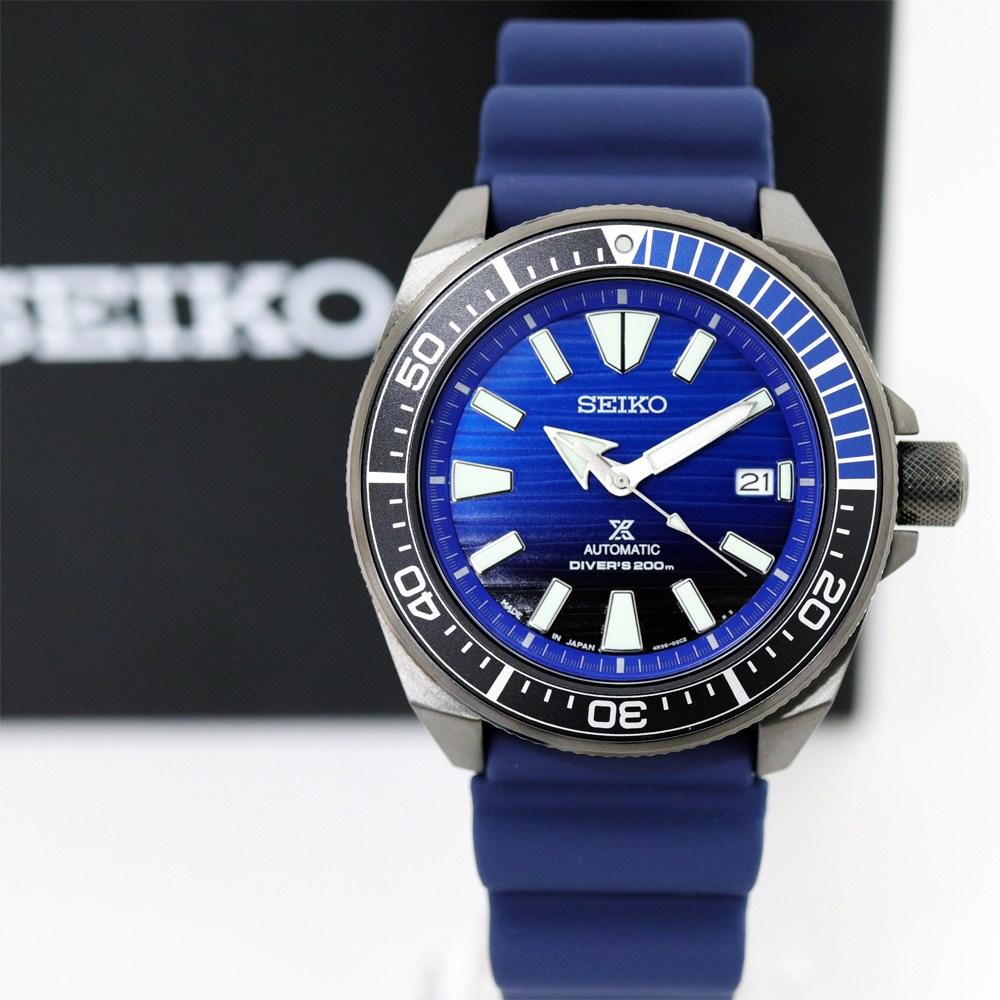 세이코 SEIKO SRPD09J1 Samurai Divers Automatic Watch 백화점 AS 가능