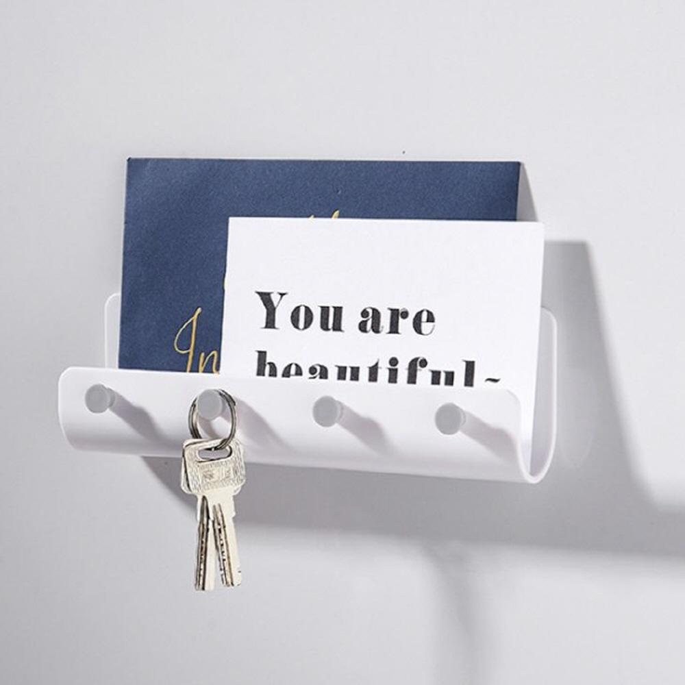 화이트 현관 열쇠걸이, 단일상품, 단일상품