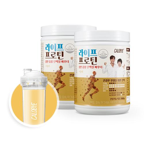 칼로바이 라이프프로틴 단백질쉐이크 식사대용 건강 식단 2개입+쉐이커증정, 2개입, 280g