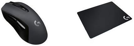 예상수령일 2-6일 이내 Logicool (로지텍) 로지텍 무선 게이밍 마우스 G603 + 마우스 패드 G240t 세트 B078, One Color, 상세 설명 참조0