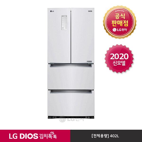 [신세계TV쇼핑][LG][공식판매점] DIOS 김치톡톡 스탠드 화이트 K419W11E (402), 폐가전수거없음