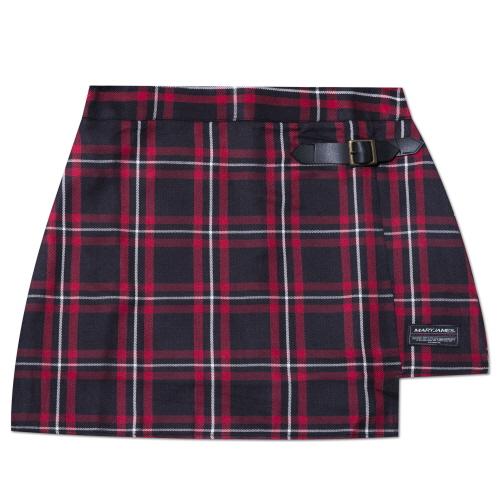 MARYJAMES (W) Plum Tree Skirt - Red