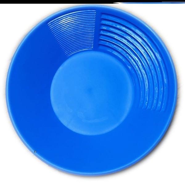 사금 채취 세트 패닝 접시 도구 장비 패닝팬 금채취 사금 모래선별기 추출 다이아몬드, 스카이 블루