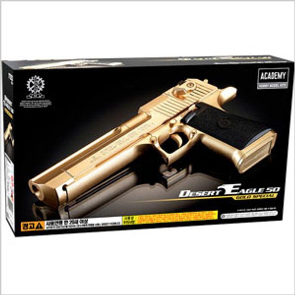 153 동그라미 / 아카데미 데저트이글 50 골드 장난감총 비비탄총 권총 전투기프라모델 bb탄총전동건 비비탄전동건 슈팅건/BB탄총(14세이상)