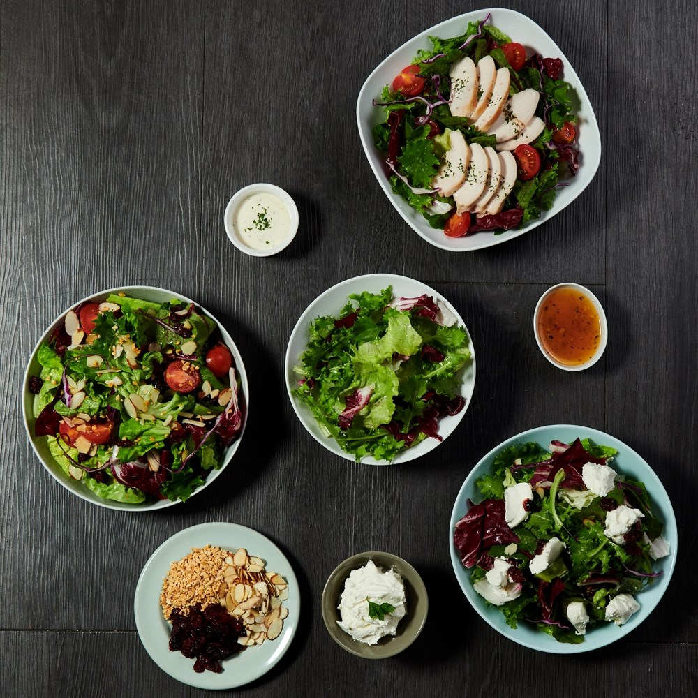 이젠슬림 샐러드 닭가슴살/견과/리코타 4종 1택, _36902_04 파우치 5팩