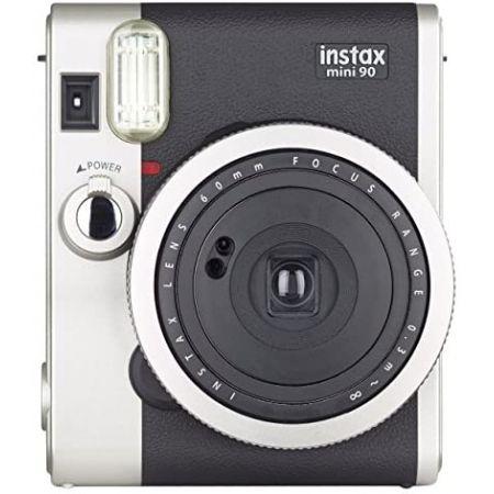[아마존베스트]Fujifilm Instax Mini 90 Neo Classic Instant Film Camera PROD5440000277, Black_Camera only