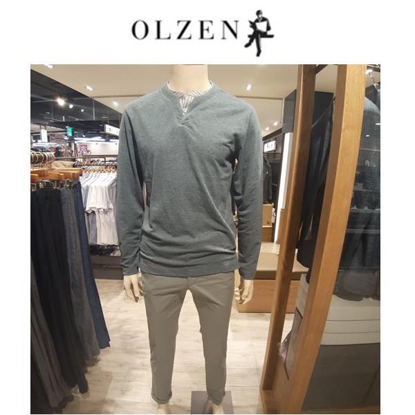 올젠 올젠 간절기 레이어드 티셔츠 ZOA3TR1304 DGN NC