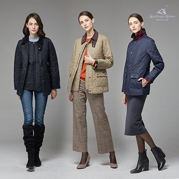 RCBPC RCB Polo Club 퀼팅 재킷+베스트 총2종_여성용