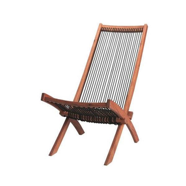 [이케아] BROMMO 브롬뫼 야외라운저 의자/야외의자/야외벤치/안락의자/비치의자/정원의자, 색상:브라운_203.327.77