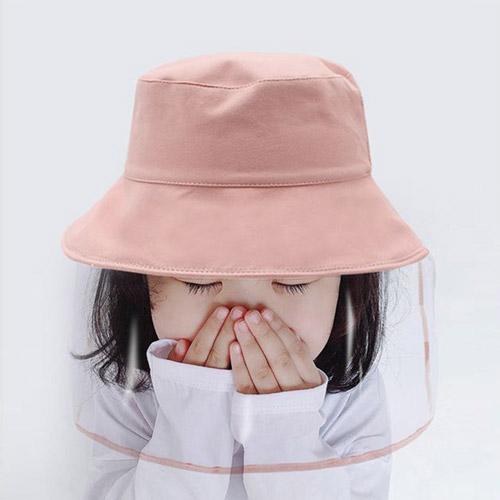 오구이뽀 유아동 비말차단 모자 벙거지 가림막