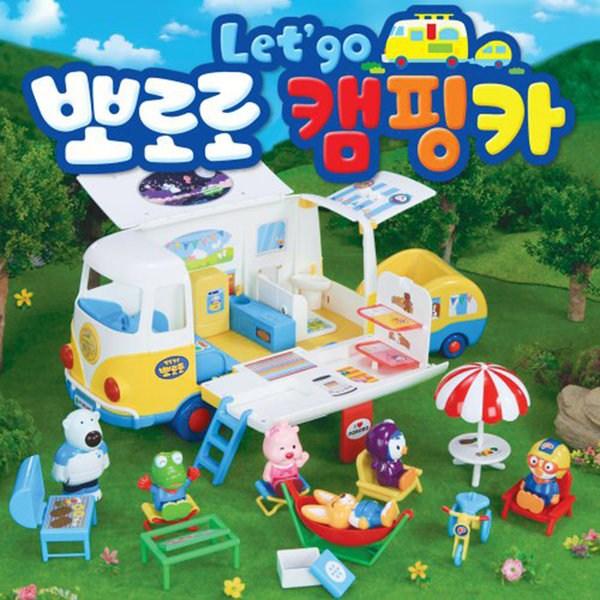 KDTOY 원더키드 뽀로로 렛츠고 캠핑카 장난감
