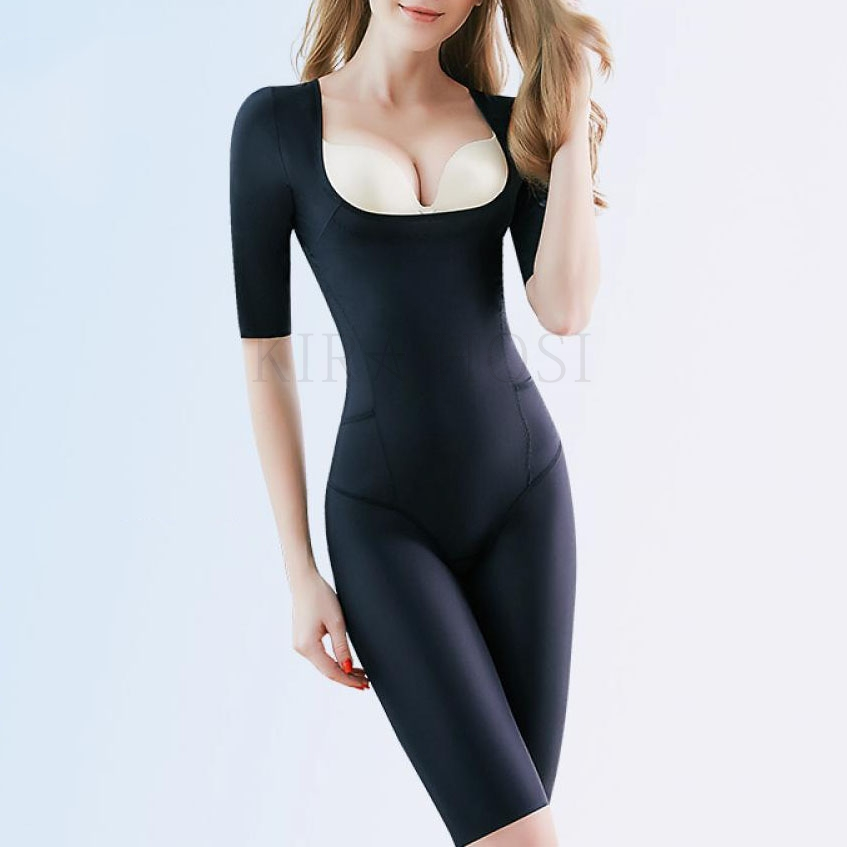 kirahosi 프리미엄 올인원 여자 보정속옷 바디쉐이퍼 197호+덧신증정 Ml8y4h4