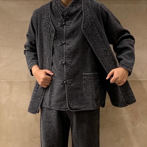 연시홍시 겨울용 3피스 생활한복(개량한복)