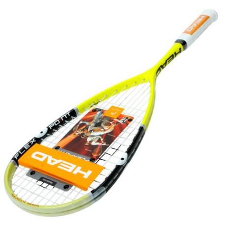 헤드 플렉스포인트 130 레전드 스쿼시라켓, 옐로우 + 블랙