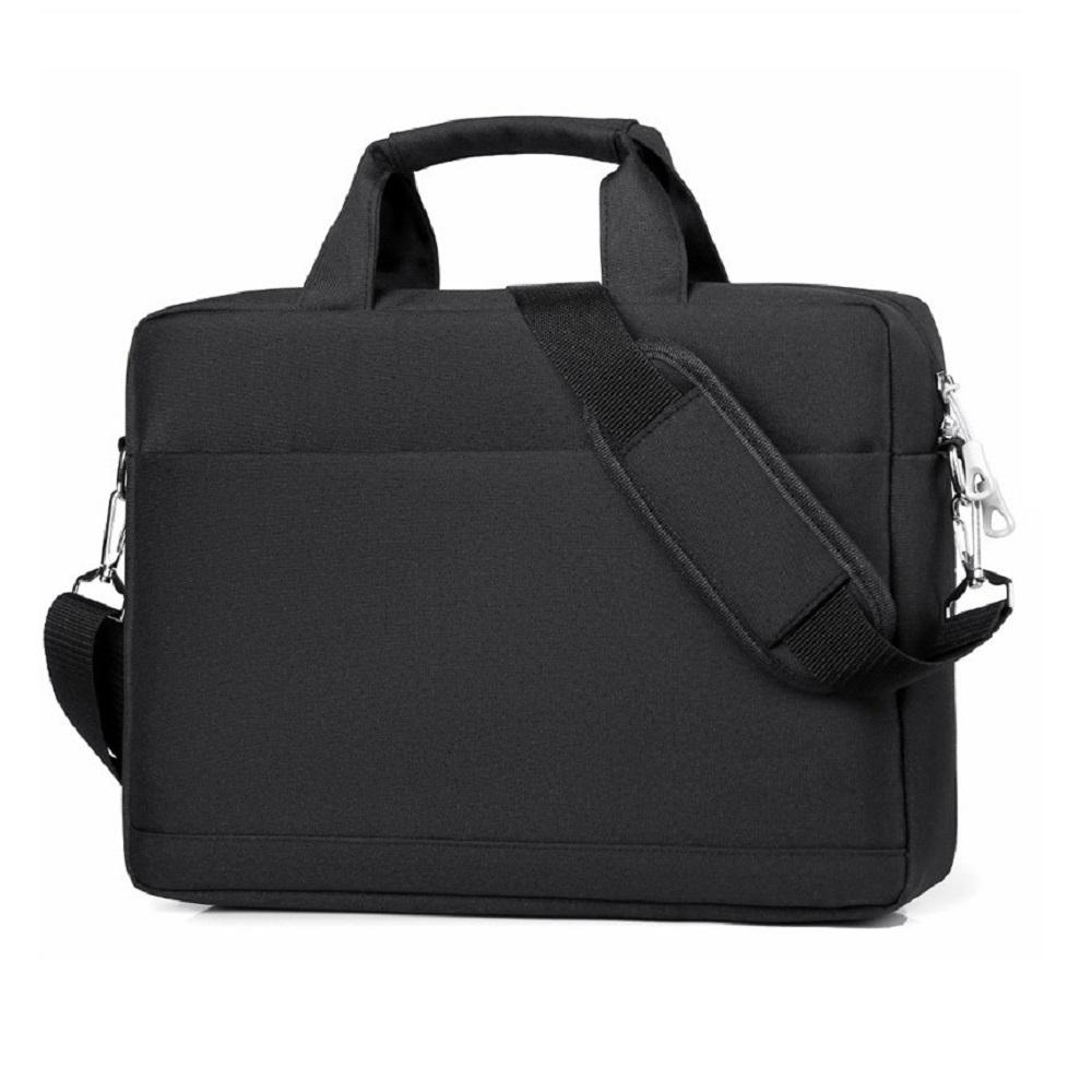 뉴이지 New 노트북 방수 파우치 17인치 서류 가방, 블랙