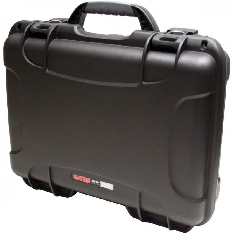 Gator Case Titan 시리즈 Zoom H6 휴대용 레코더 및 액세서리 (GU-ZOOMH6-WP) 용 맞춤형 인서트 방수 케이스, 단일옵션, 단일옵션