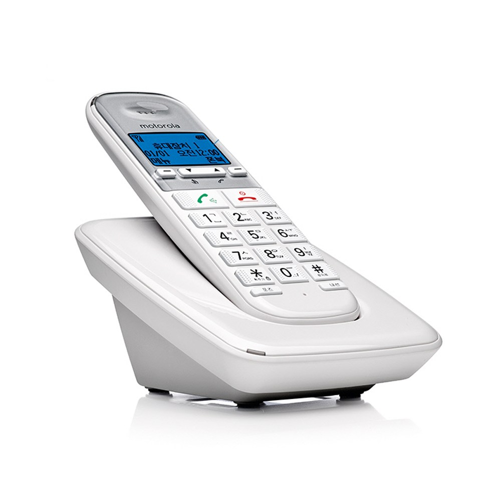 모토로라 무선전화기, S3001A화이트