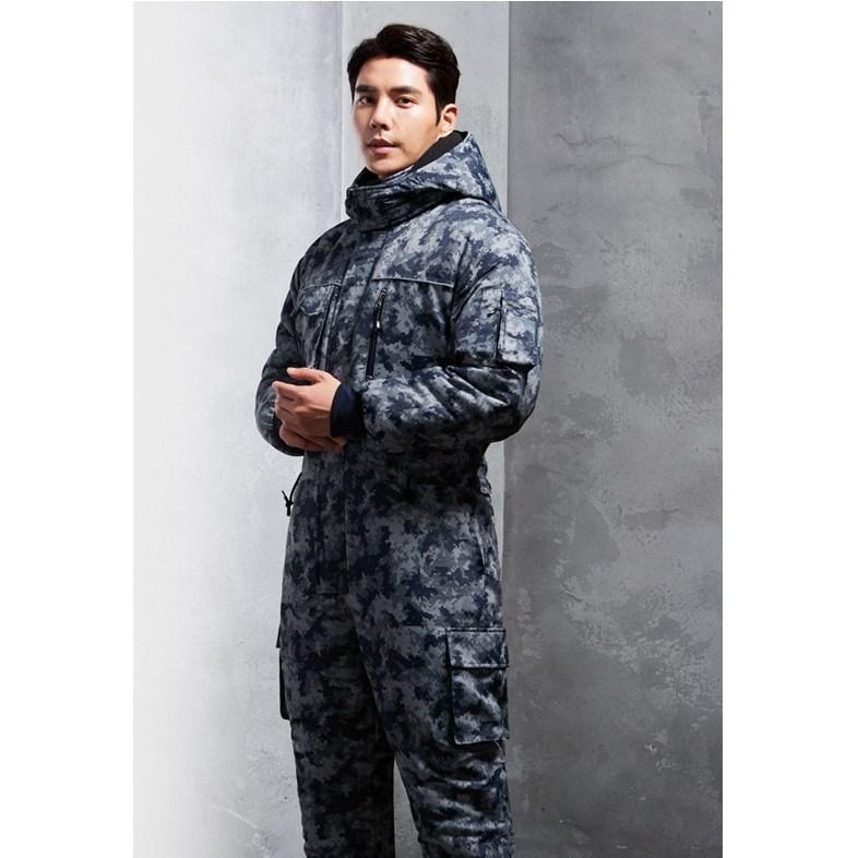 겨울용 스즈끼(일체형) 항공우주복 방한복 정비복 낚시복 경신코리아 KSK -199