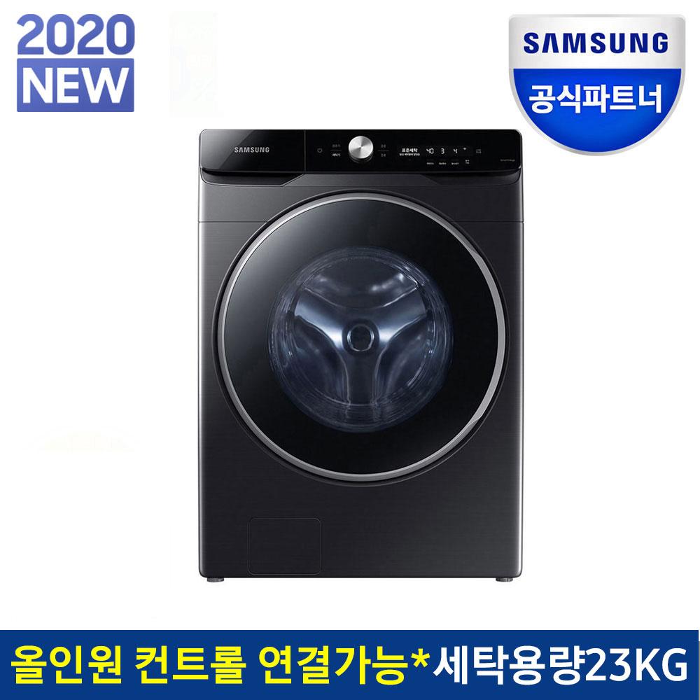삼성전자 그랑데 AI 세탁기 23kg WF23T9500KV 블랙캐비어