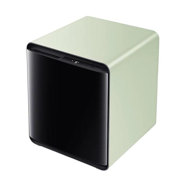 삼성전자 CRS25T950007 비스포크 큐브 냉장고 펀그린, 와인&비어, 선택안함 (POP 4394657249)