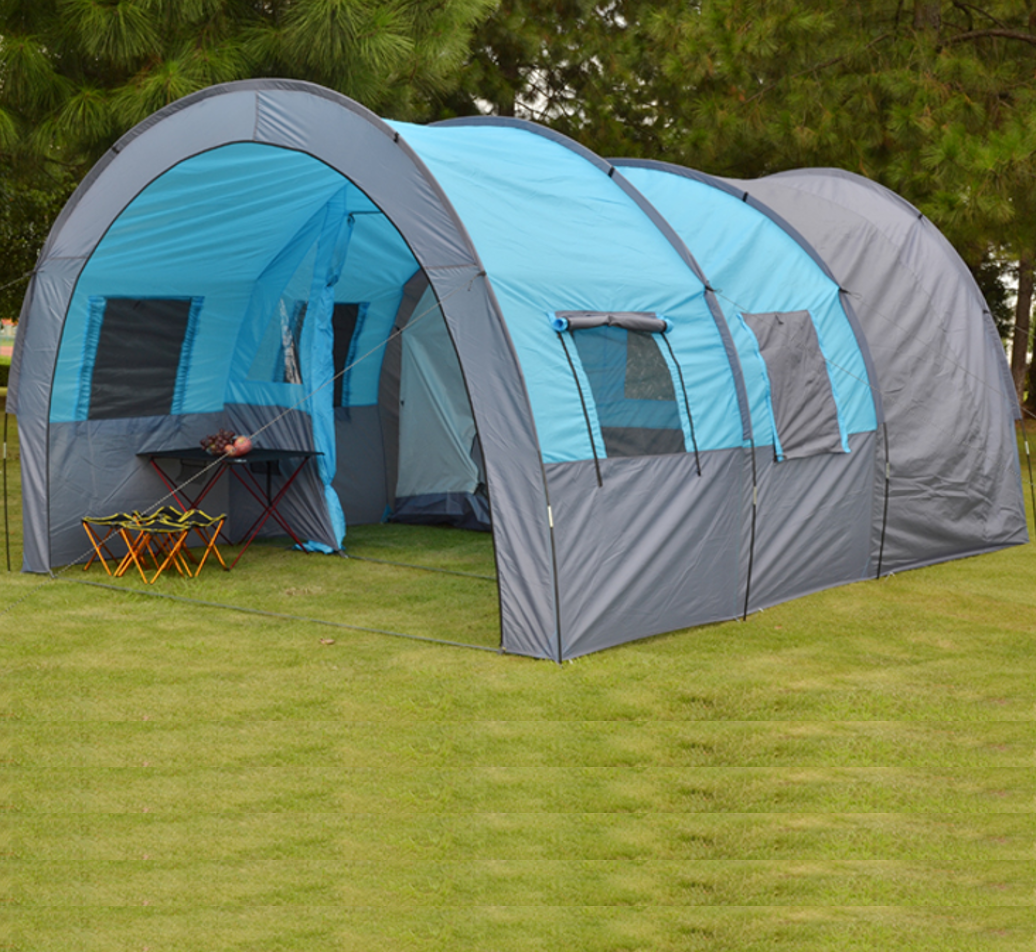 리빙쉘 쉘터 거실형 돔 대형 하우스형 텐트 2룸