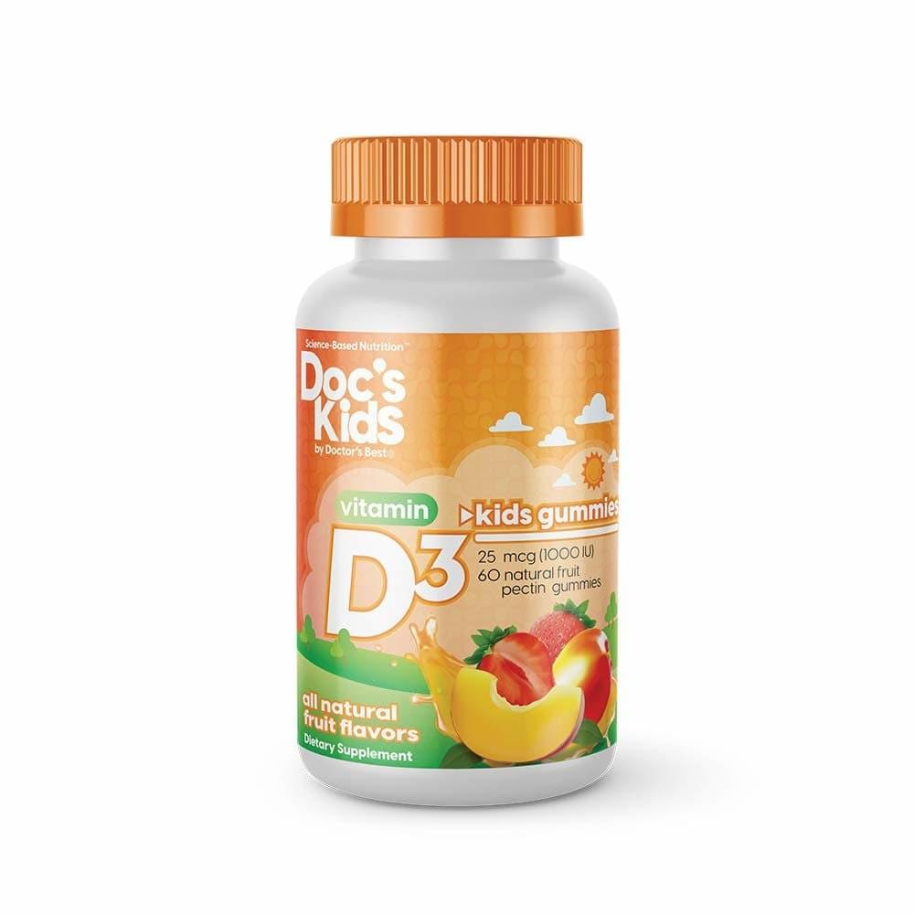 닥터스베스트 키즈 비타민 D3 젤리(60입x2팩), 단일상품, 단일상품
