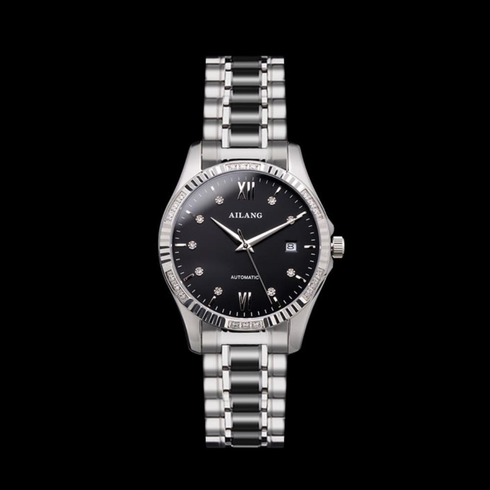 소 블랙오토매틱 여자 손목 메탈 시계 여성용 여성손목시계 여성메탈시계 여자시계