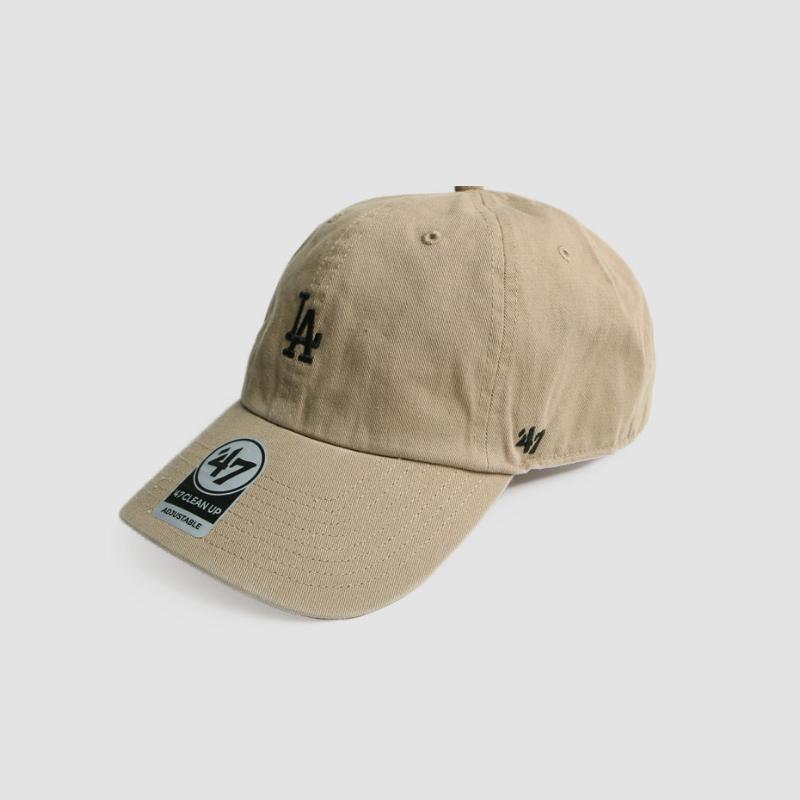 47브랜드 스몰로고 클린업 볼캡 모자