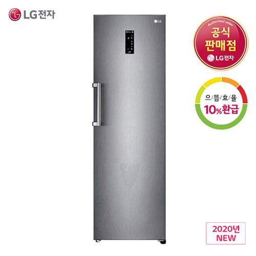 LG 으뜸효율 10%환급대상 DIOS 신모델 김치냉장고 K328SE 스탠드형 324L, K328SE(폐가전수거요청)