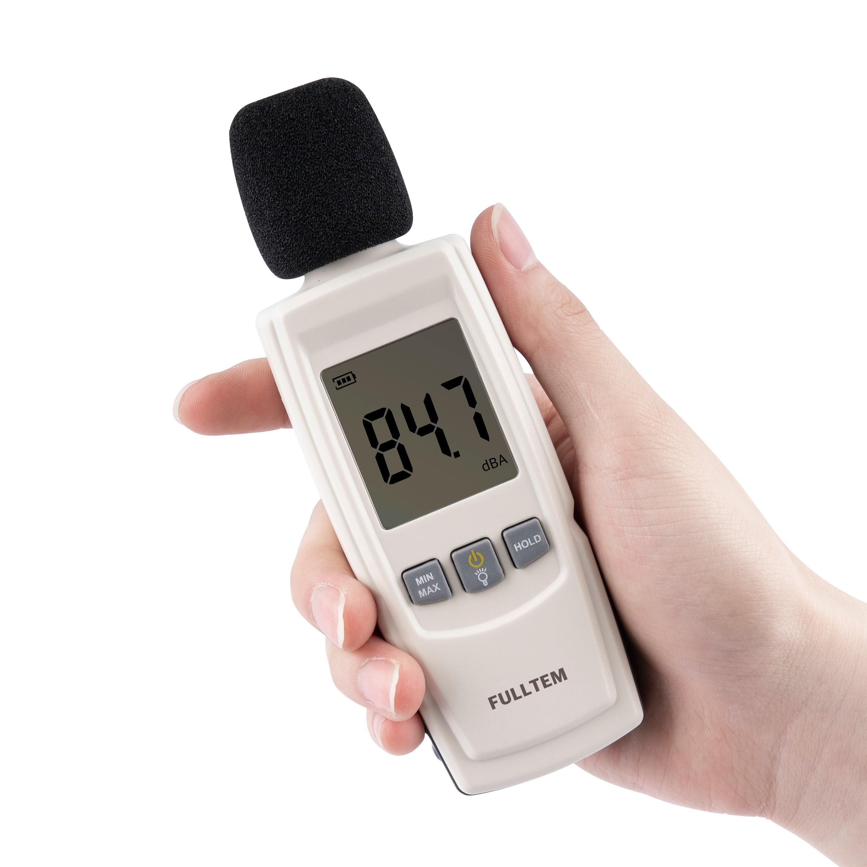 풀템 소음측정기 데시벨측정기 소음계 일반형 GM1352