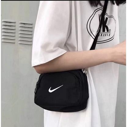 나이키 남녀공용 미니가방 크로스백 블랙