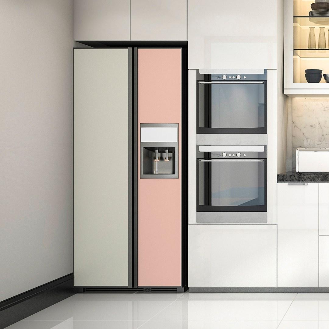 현대인필 냉장고 에어컨 리폼 시트지 인테리어필름 모음, 03. 피치 ECSL557