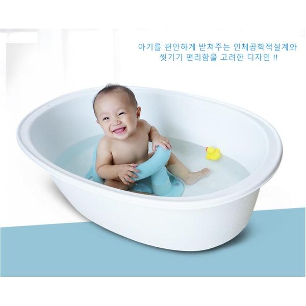 sw 샴푸의자 아기욕조 아기목욕의자 유아욕조 유아목욕의자, 노란색