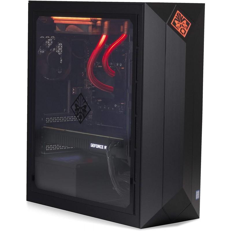 2020 최신 ELUK OMEN Obelisk 게임용 데스크탑 PC (수냉식 Intel i9-9900K CPU NVIDIA RTX 2080 Ti 11GB GPU Z390 Mobo 750, 단일옵션