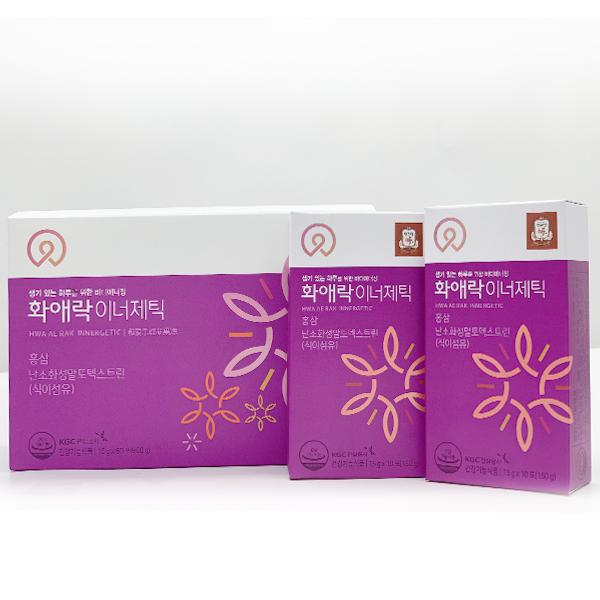방방곡간] 정관장 여성갱년기 건강식품 화애락이너제틱 60포, 1개