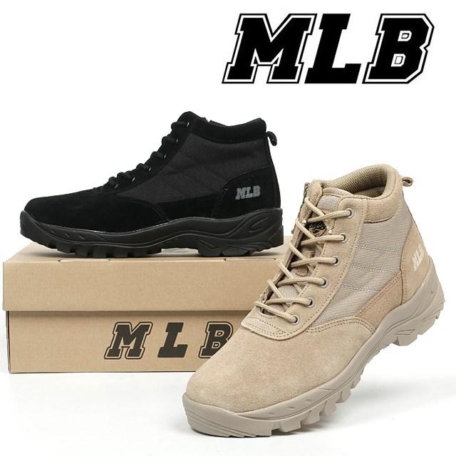 MLB MLB스왓 스와트 가죽 군화 남성 남자 워커 부츠 전술화 앵클 사막화