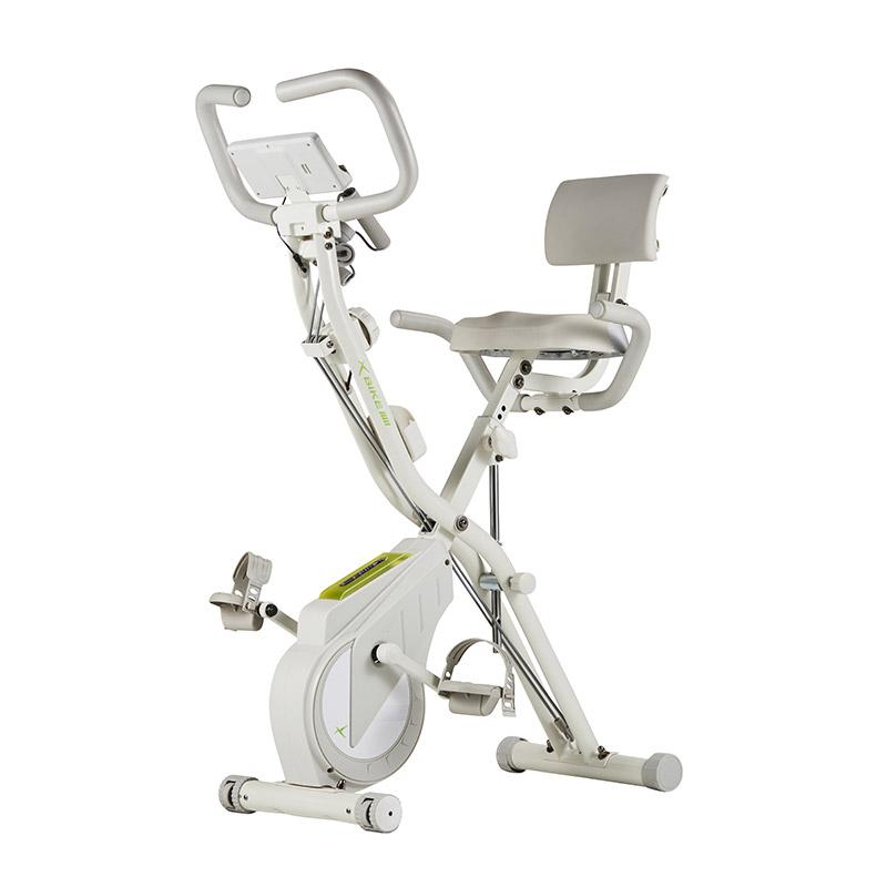 2021년 최신형 6세대 숀리 엑스바이크 플레티넘 실내자전거, 크림화이트