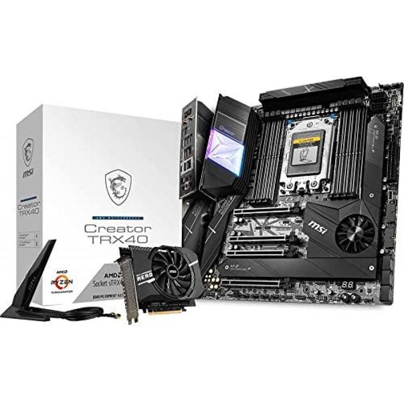 [해외] MSI Creator TRX40메인 보드[ 제3세대 Ryzen Threadripper대응]MB4880 MSI마더 보드통판, 단일옵션