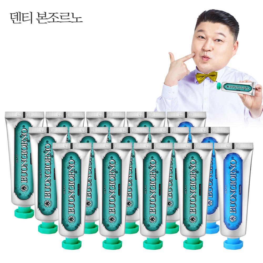 치약SET (구취100g 12개+치석100g 3개), 1set