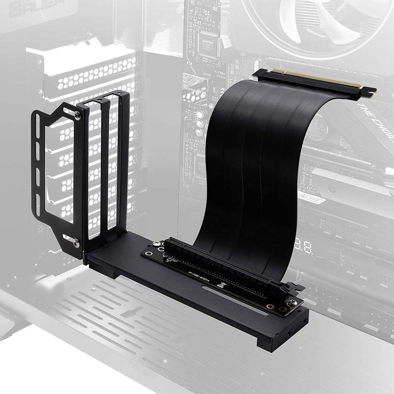 EZDIY-FAB 수직 그래픽 카드 홀더 브래킷 GPU 마운트 비디오 카드 VGA 지원 키트(20cm/7.8인치 PCIE 3., 단일옵션